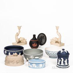Nine Pieces of Modern Wedgwood Tableware