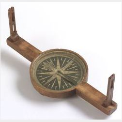 Cherrywood Surveyor's Compass