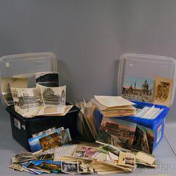 Large Collection of Travel Ephemera