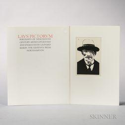 Baskin, Leonard (1922-2000) Laus Pictorum, Portraits of Nineteenth Century Artists.