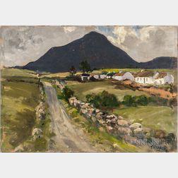 Attributed to James Humbert Craig (Irish, 1878-1944)      Irish Country Landscape
