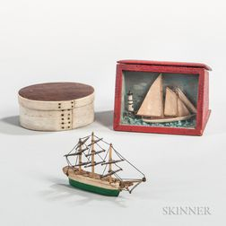 Three Miniature Maritime Objects