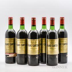 Chateau Brane Cantenac 1979, 6 bottles