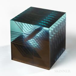 Ladislav Oliva Art Glass Sculpture