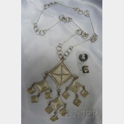 Three Jewelry Items, possibly Margret Craver