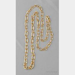 22kt Gold Longchain, Jean Mahie