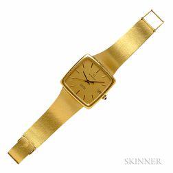 """18kt Gold """"Executive"""" Wristwatch, Eterna"""