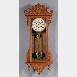 """ALTON"" Wall Clock by Waterbury Clock Company"