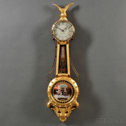 Mahogany Stennes Girandole Clock