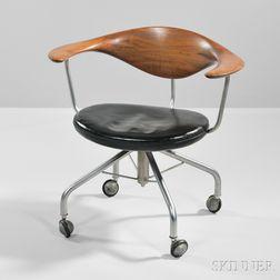 Hans Wegner (1914-2007) Swivel Desk Chair