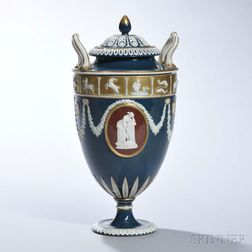 Wedgwood Victoria Ware Vase and Cover