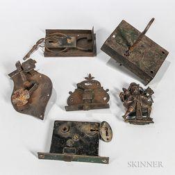 Six Miscellaneous Locks