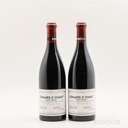 Domaine de la Romanee Conti Romanee St. Vivant 2013, 2 bottles