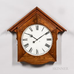 Seth Thomas Oak Gallery Clock