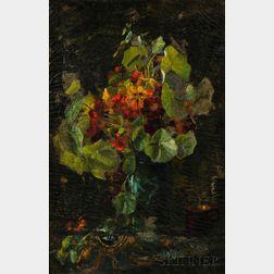 Charles H.H. Burleigh (British, 1875-1956)    Nasturtiums