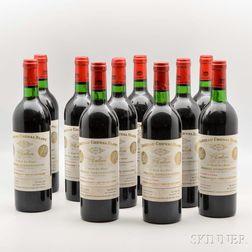 Chateau Cheval Blanc 1975, 10 bottles