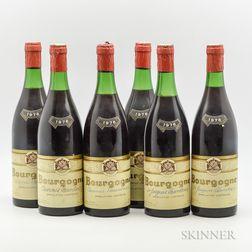 Rene Loyau, 6 bottles
