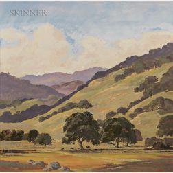 Thomas Stanley Painter (American, 1928-2004)      West Marin Hills