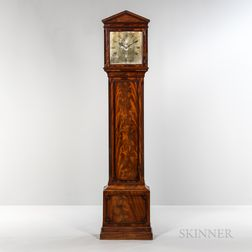 Earnshaw Mahogany Long Case Clock