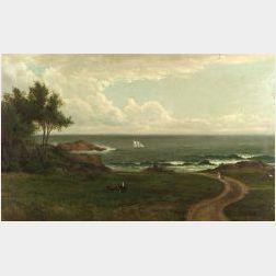 Sylvester Phelps Hodgdon (American, 1830-1906)  Path to the Coast