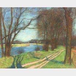 Arthur Clifton Goodwin (American, 1866-1929)    Upper Charles River