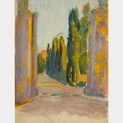 Margaret Jordan Patterson (American, 1867-1950)      An Italian View