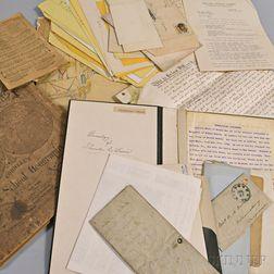 Group of Assorted Paper Ephemera