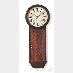 S.B. Terry Mahogany Tavern Clock