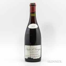 Leroy Nuits St. Georges 2004, 1 bottle