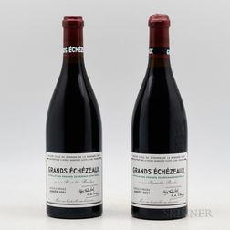 Domaine de la Romanee Conti Grands Echezeaux 2001, 2 bottles