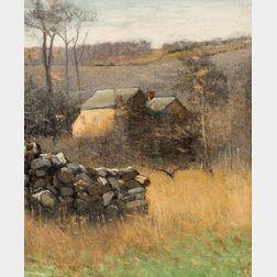 John Francis Murphy (American, 1853-1921)      November Greys