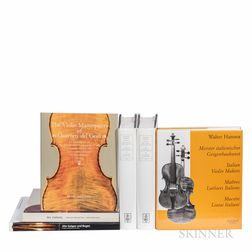 Six Books and Exhibition Catalogs on Violins