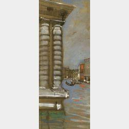 John Paul Manship (American, b. 1927)  Venetian View.