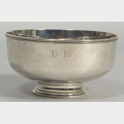 Arthur Stone Arts & Crafts Footed Bowl