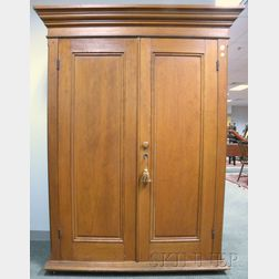 Continental Pine Two-door Wardrobe Cabinet