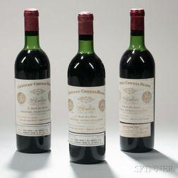 Chateau Cheval Blanc 1966, 3 bottles