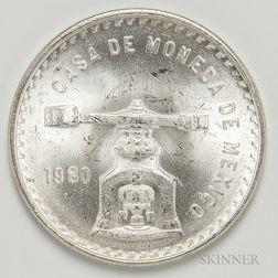 1980 Mexican Onza.