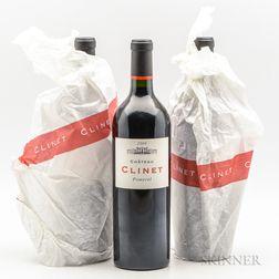 Chateau Clinet 2009, 3 bottles