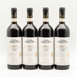 Bruno Giacosa Barolo Falletto 2008, 4 bottles