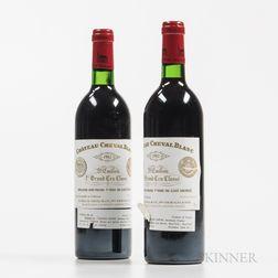 Chateau Cheval Blanc 1982, 2 bottles