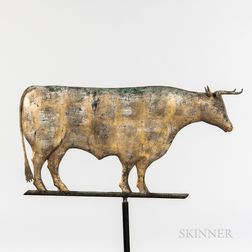 Molded Sheet Copper and Zinc Steer Weathervane