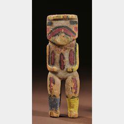 Hopi Painted Carved Wood Kachina