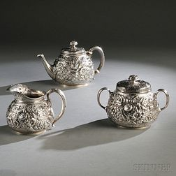 Tiffany & Co. Three-piece Sterling Silver Tea Service