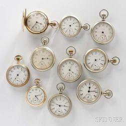 Ten Waltham Watches
