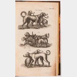 Jonston, John (1603-1675) Historiae Naturalis de Quadrupedibus Libri   [and] Historiae Naturalis de Piscibus et Cetis Libri V.