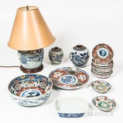 Group of Asian Tableware