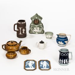Group of English and German Ceramic Tableware