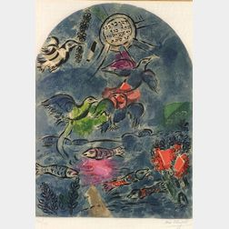 After Marc Chagall (Russian/French, 1887-1985)  The Tribe of Ruben