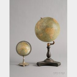 Two 20th Century Table Globes