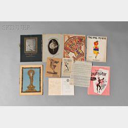 Eleven Boxes of Dance Ephemera, Programs, and Souvenir Books